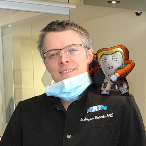 Dr. Stéphane Coulombe et Health Man